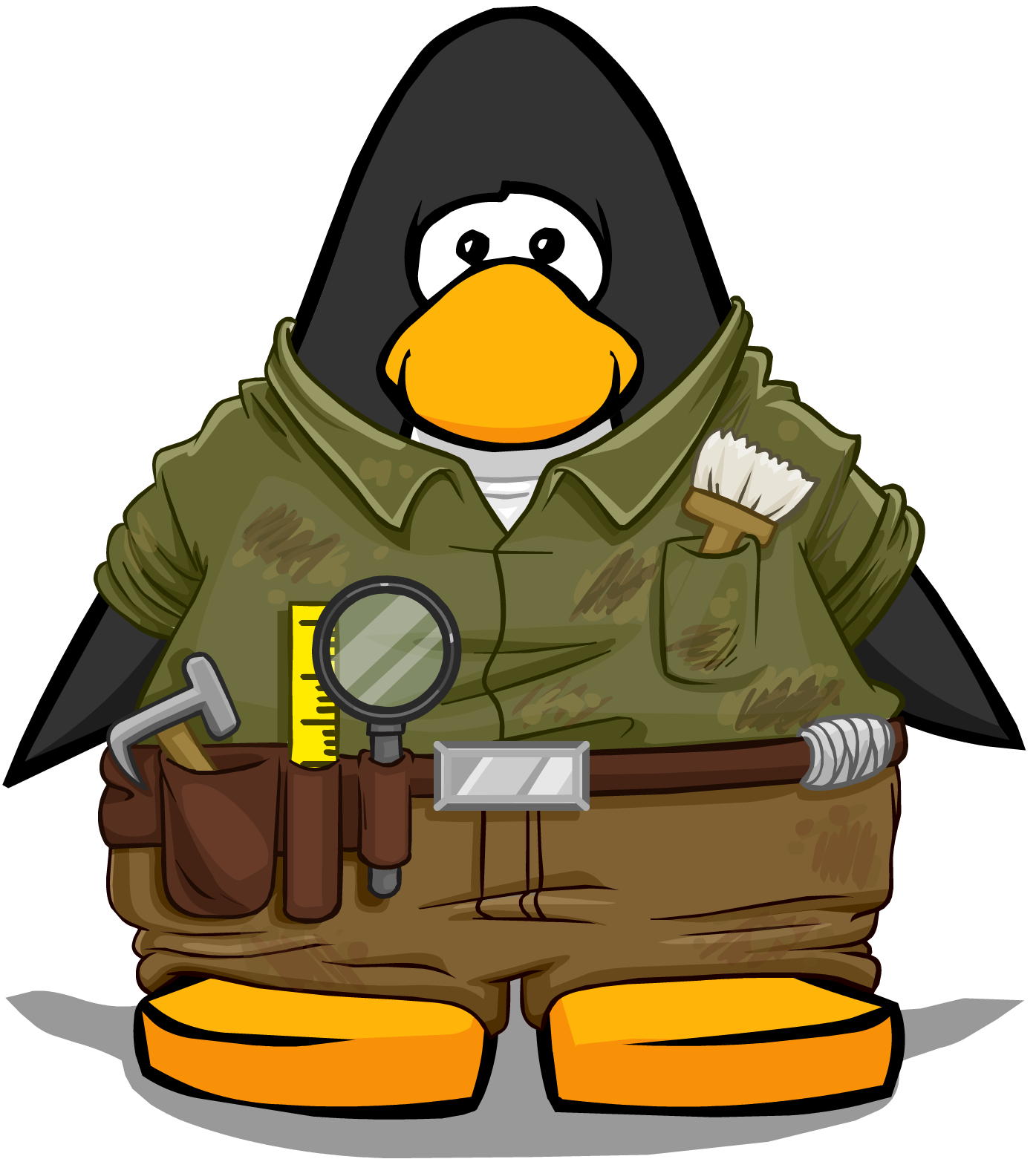 Archaeologist Outfit On Player Card.png - Archaeologist PNG