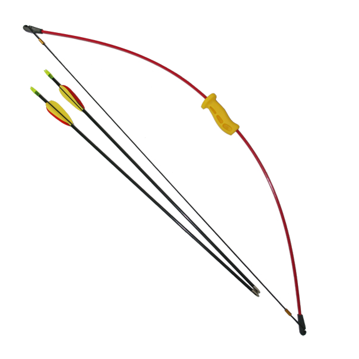 Archery 36 inch 10lb Starter Bow and Arrow Set - Archery Bow And Arrow PNG