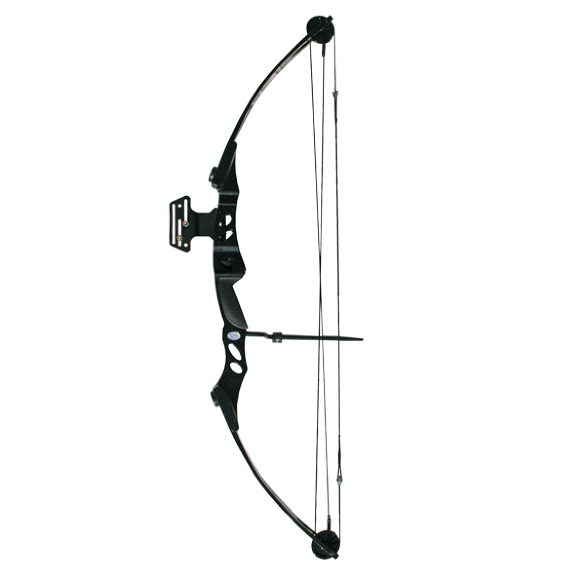 Archery 55lb Black Compound Bow - Archery Bow And Arrow PNG