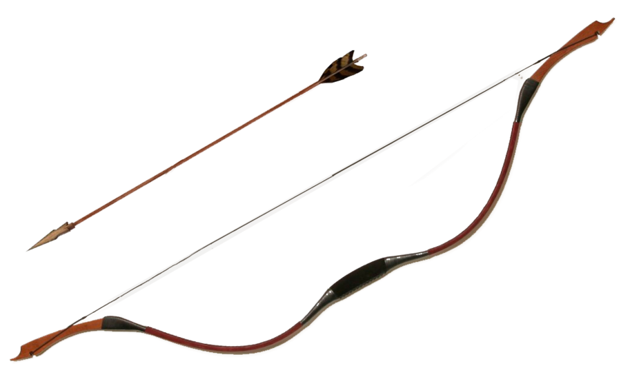 Bow and arrow by juciely-d7a67vu.png - Archery Bow And Arrow PNG