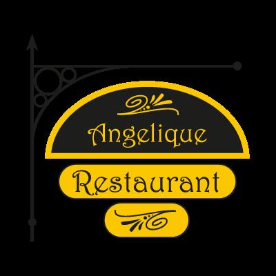Angelique Restaurant Vector Logo - Arequipa PNG