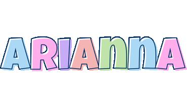 ARIANNA NAME LOGO - Arianna Friends Logo PNG