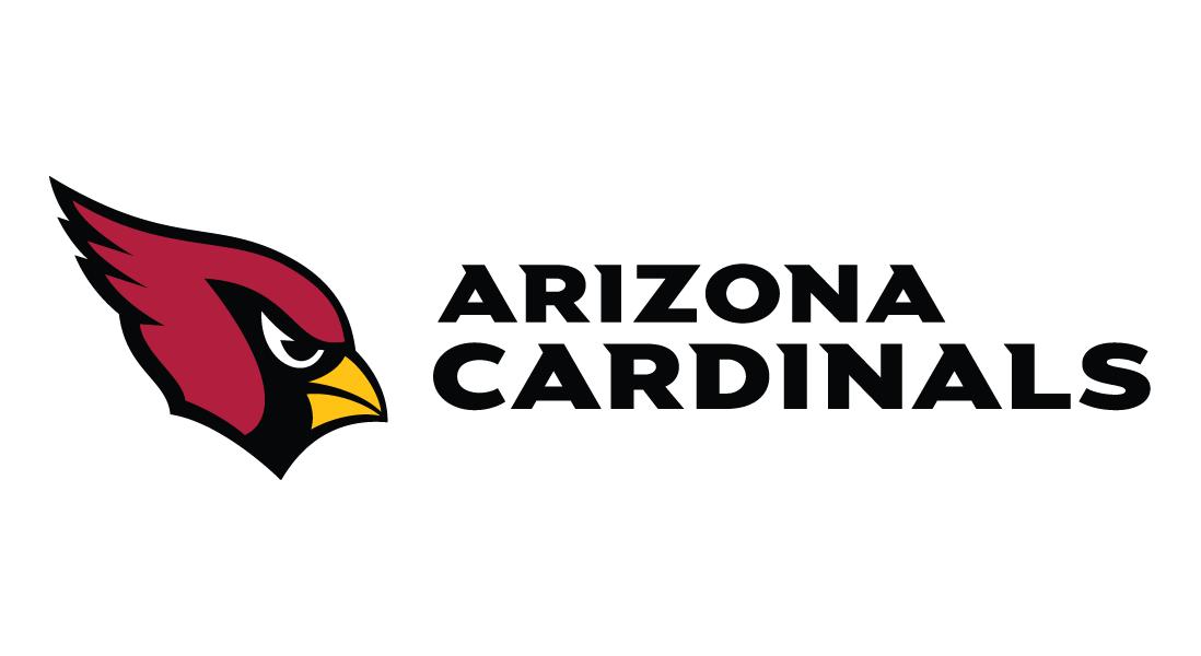 Arizona Cardinals logo with horizontal text transparent - Arizona Cardinals Logo PNG