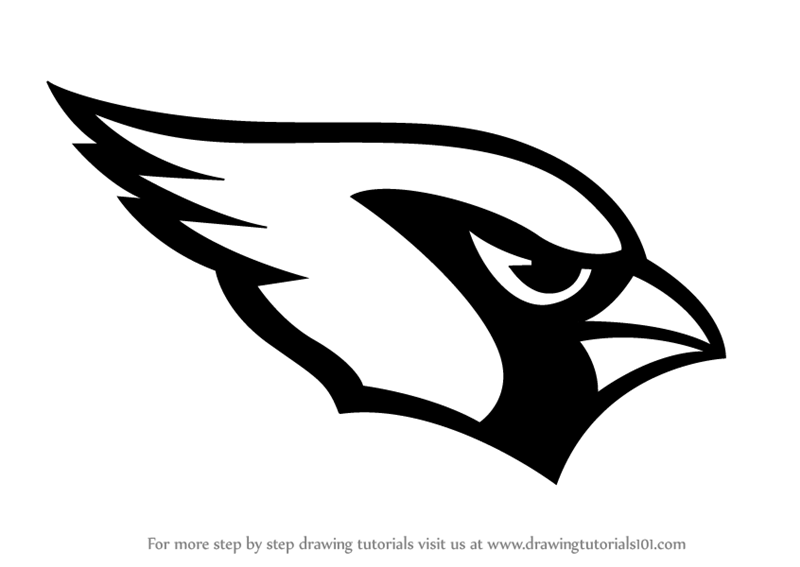 Learn How to Draw Arizona Cardinals Logo (NFL) Step by Step : Drawing  Tutorials - Arizona Cardinals Logo PNG