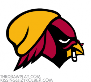 Website recreates Arizona Cardinals logo for hipsters - Arizona Cardinals Logo PNG