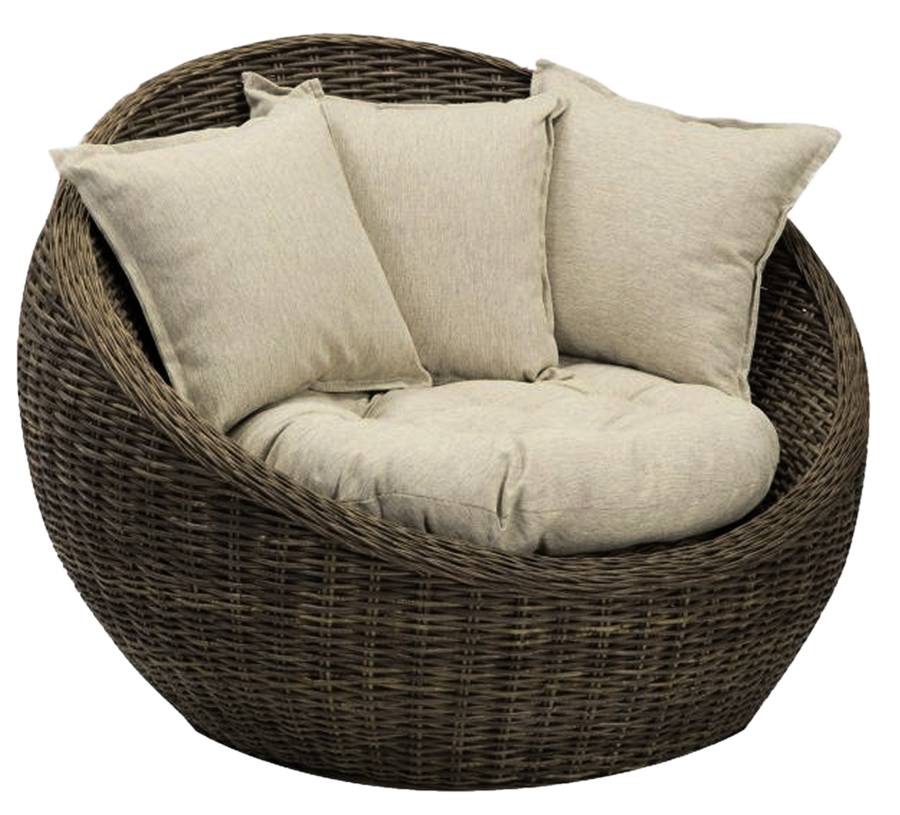 Basket Chair png 2 by mysticmorning - Armchair HD PNG