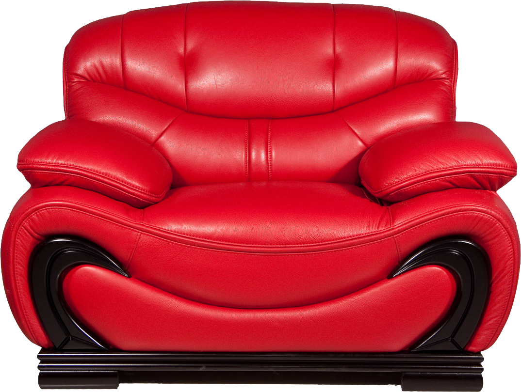 Red armchair PNG image - Armchair HD PNG