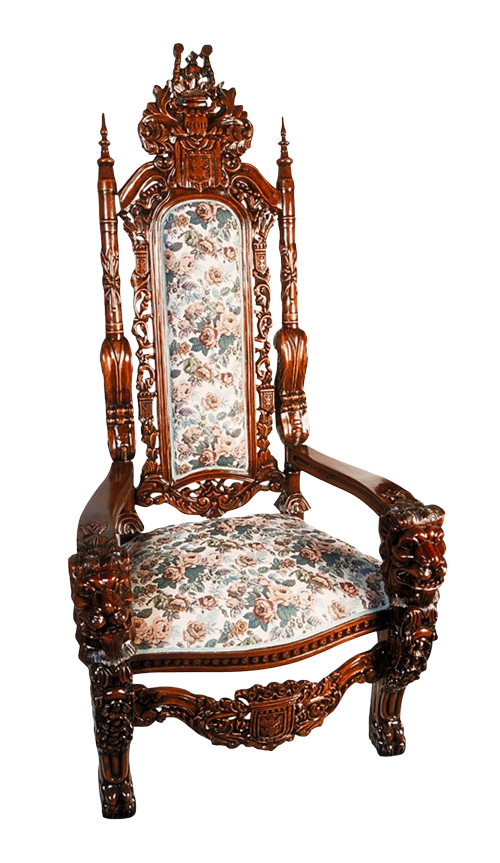 Old Vintage Chair PNG Transparent Image - Armchair PNG