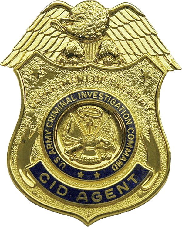 File:USA - Army CID Badge.png - Army Badges PNG