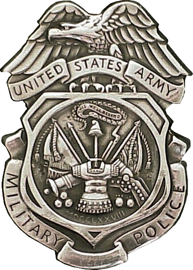 File:USA - Army MP Badge.png - Army Badges PNG