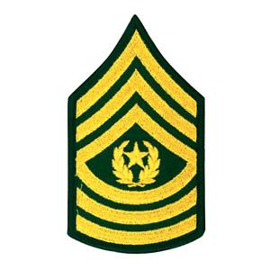 Army Csm Rank PNG - 133335