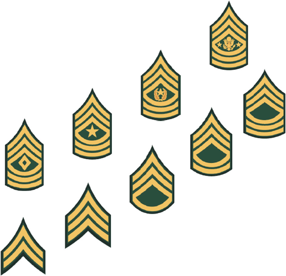 army nco rank insignia clipart - Army Csm Rank PNG