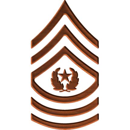 Army Csm Rank PNG - 133330