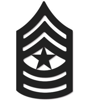 Army Csm Rank PNG - 133337
