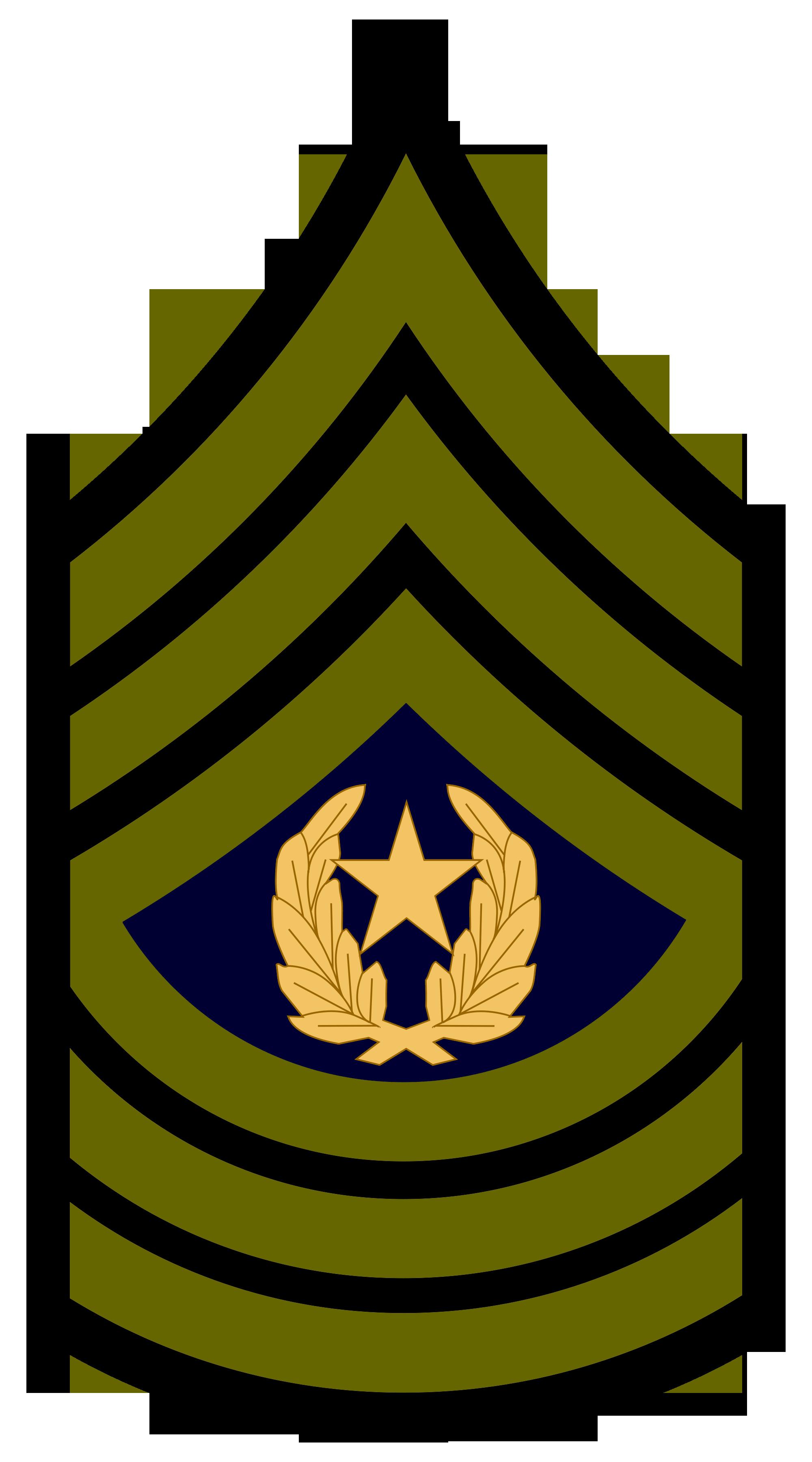 Army Csm Rank PNG - 133332
