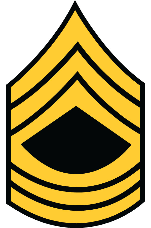 Sergent clipart military commander #1 - Army Csm Rank PNG
