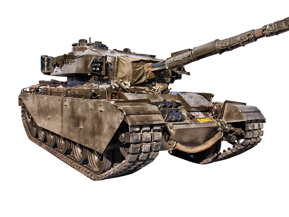 Isolated, Transparent, Military, Vehicle, Tank, War - Army Tank PNG