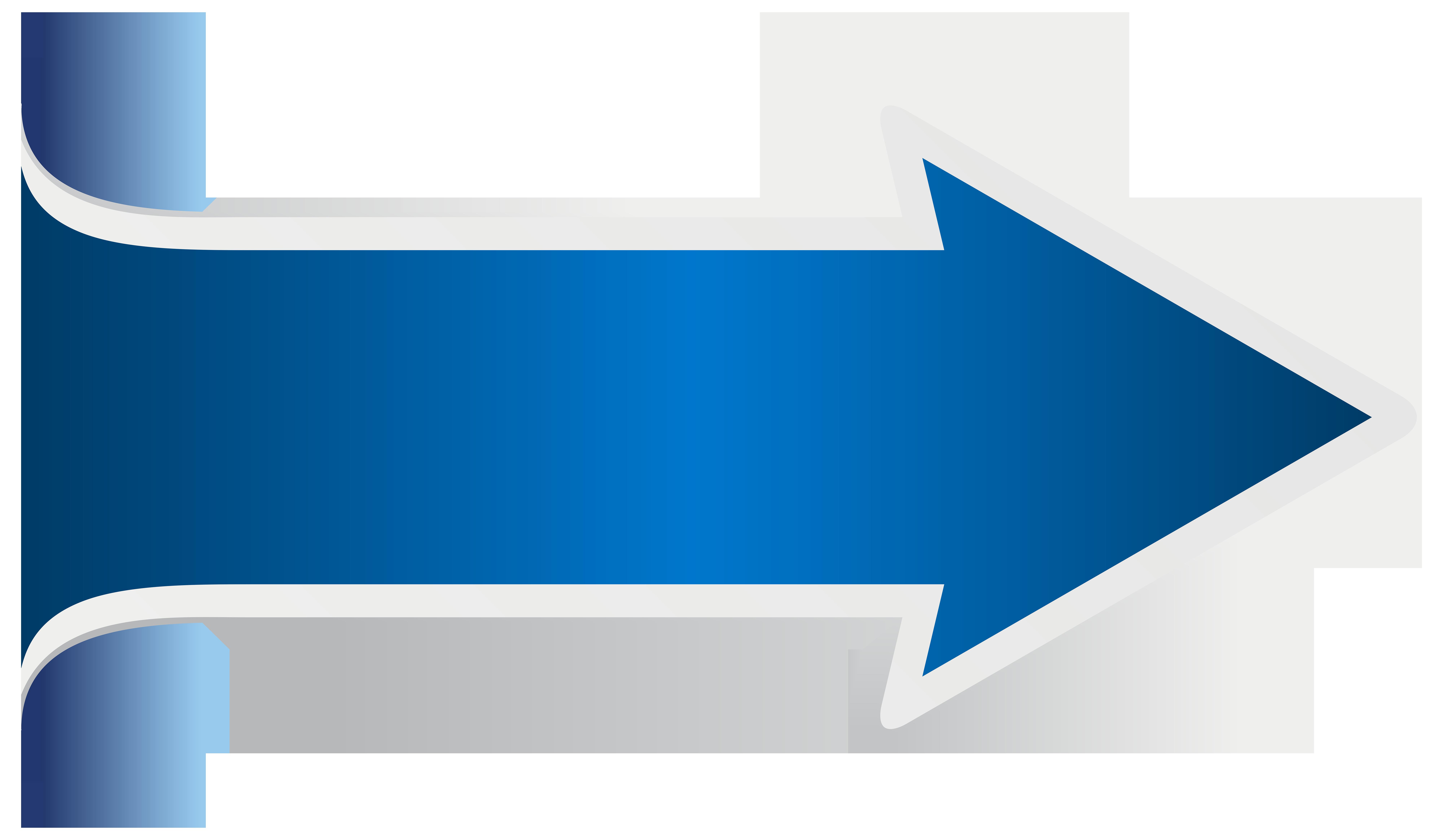 Pin Arrow Clipart Blue Arrow #2 - Arrow HD PNG