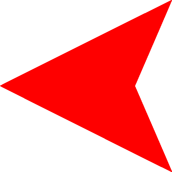 Red Arrow Left Png image #4729