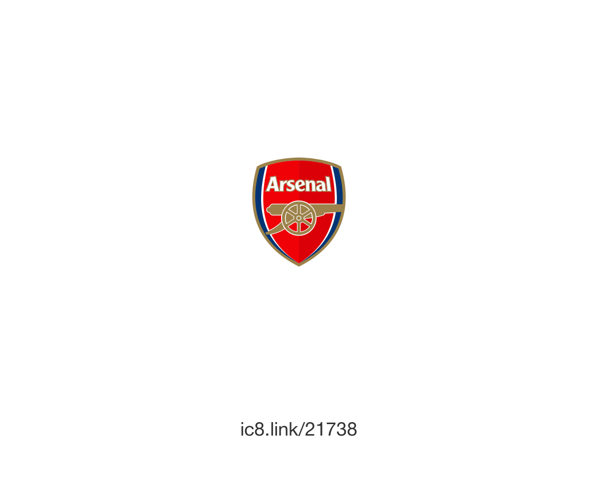 Arsenal Fc Vector PNG-PlusPNG.com-1200 - Arsenal Fc Vector PNG