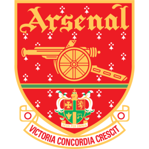 Free Vector Logo Arsenal FC - Arsenal Fc Vector PNG