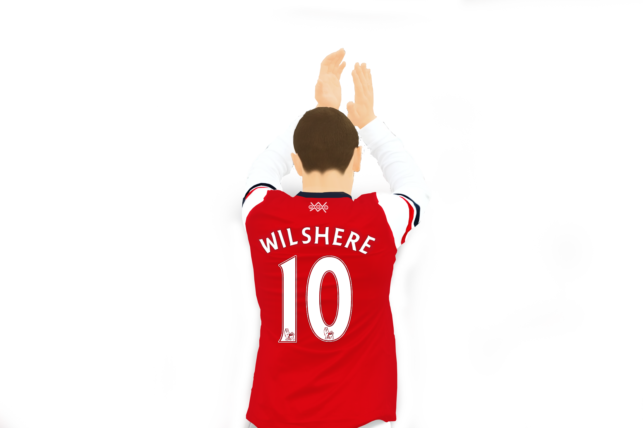 Vector Jack Wilshere Arsenal FC by TheCristinaChuck Vector Jack Wilshere Arsenal  FC by TheCristinaChuck - Arsenal Fc Vector PNG