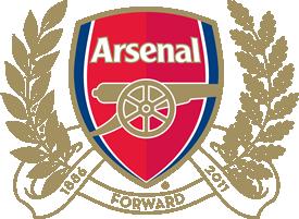Arsenal FC logo (125th anniversary).png - Arsenal PNG
