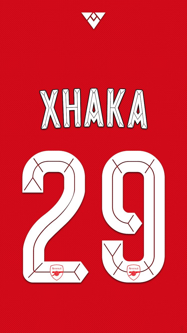 Arsenal-fc-xhaka-png.674739 750×1,334 Pixels - Arsenal PNG