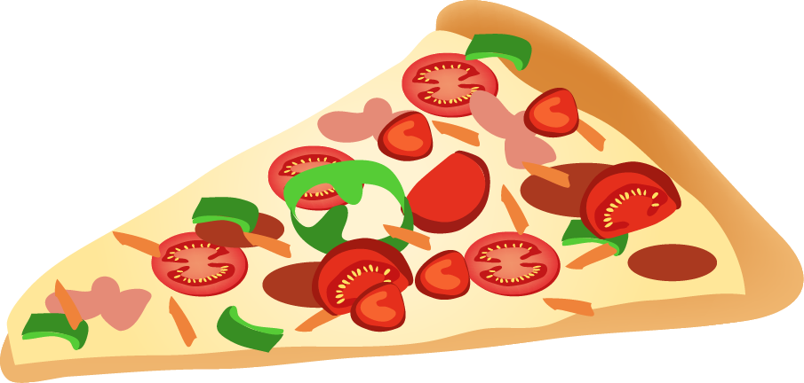 Cheese pizza slice clipart fr