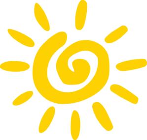Sun Clipart Clip Art - Art Of Sun Logo PNG