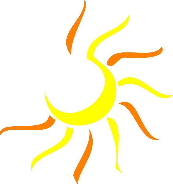 Sun Clip Art at Clker pluspng.com - vector clip art online, royalty free u0026 public  domain - Art Of Sun Logo Vector PNG