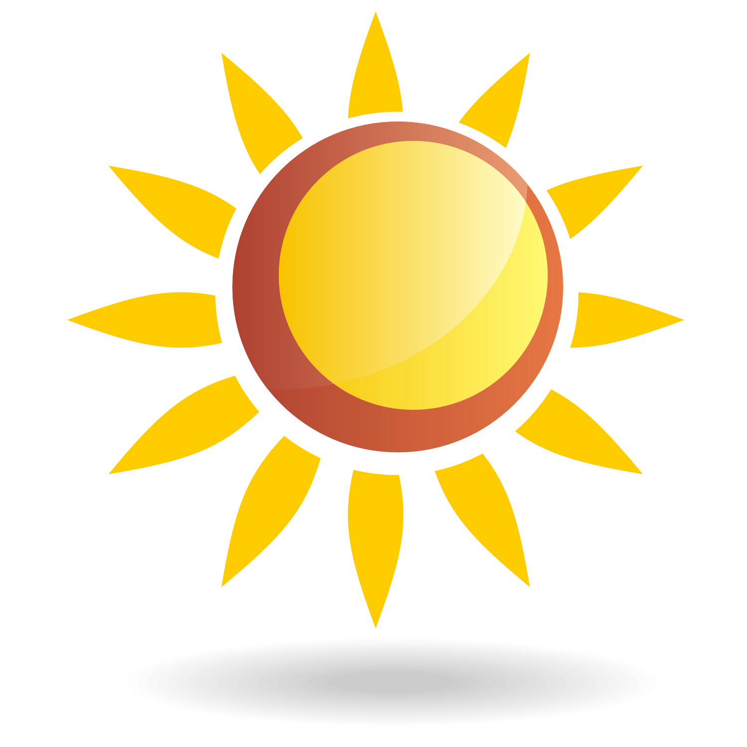 Sun Vector - Clipart library - Art Of Sun Logo Vector PNG
