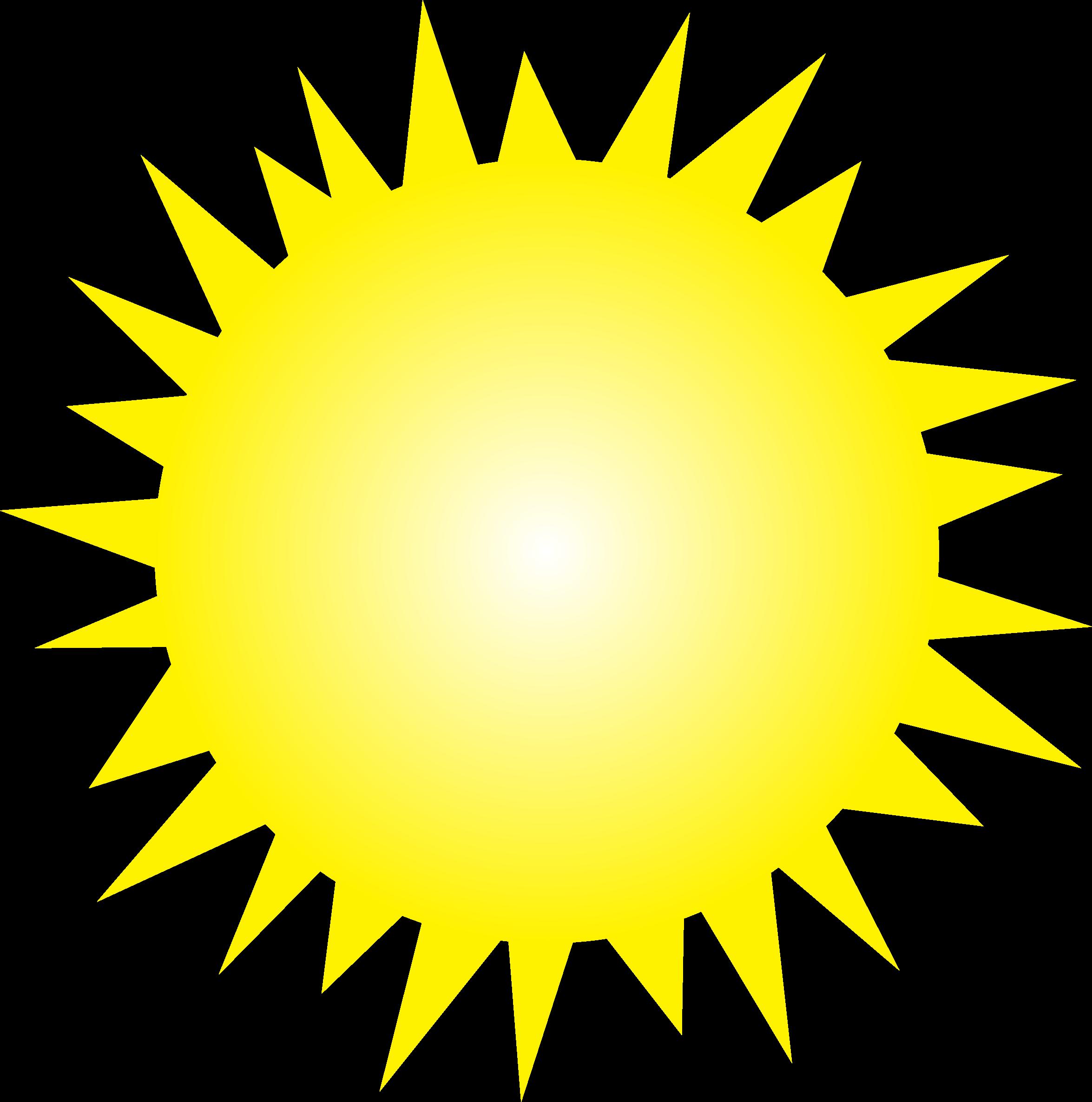 Clipart sun 1 2