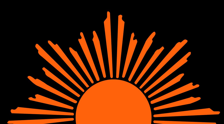 Rising Sun Clip Art - Art Of Sun PNG