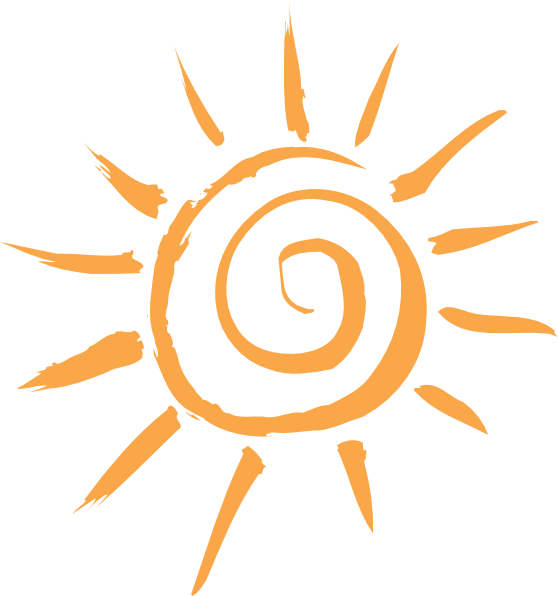 Simple Sun Motif PNG Clip art - Art Of Sun PNG