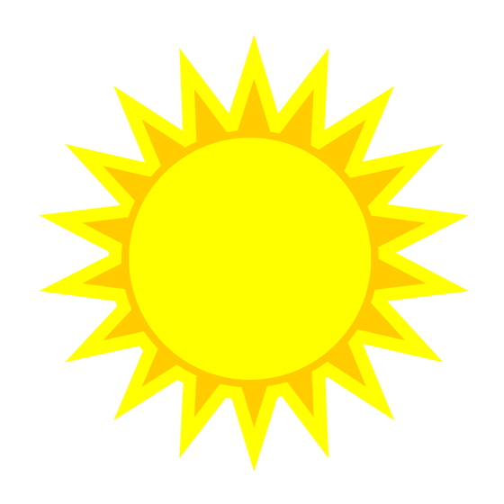 Ec Cliparts #91990 - Art Of Sun Vector PNG