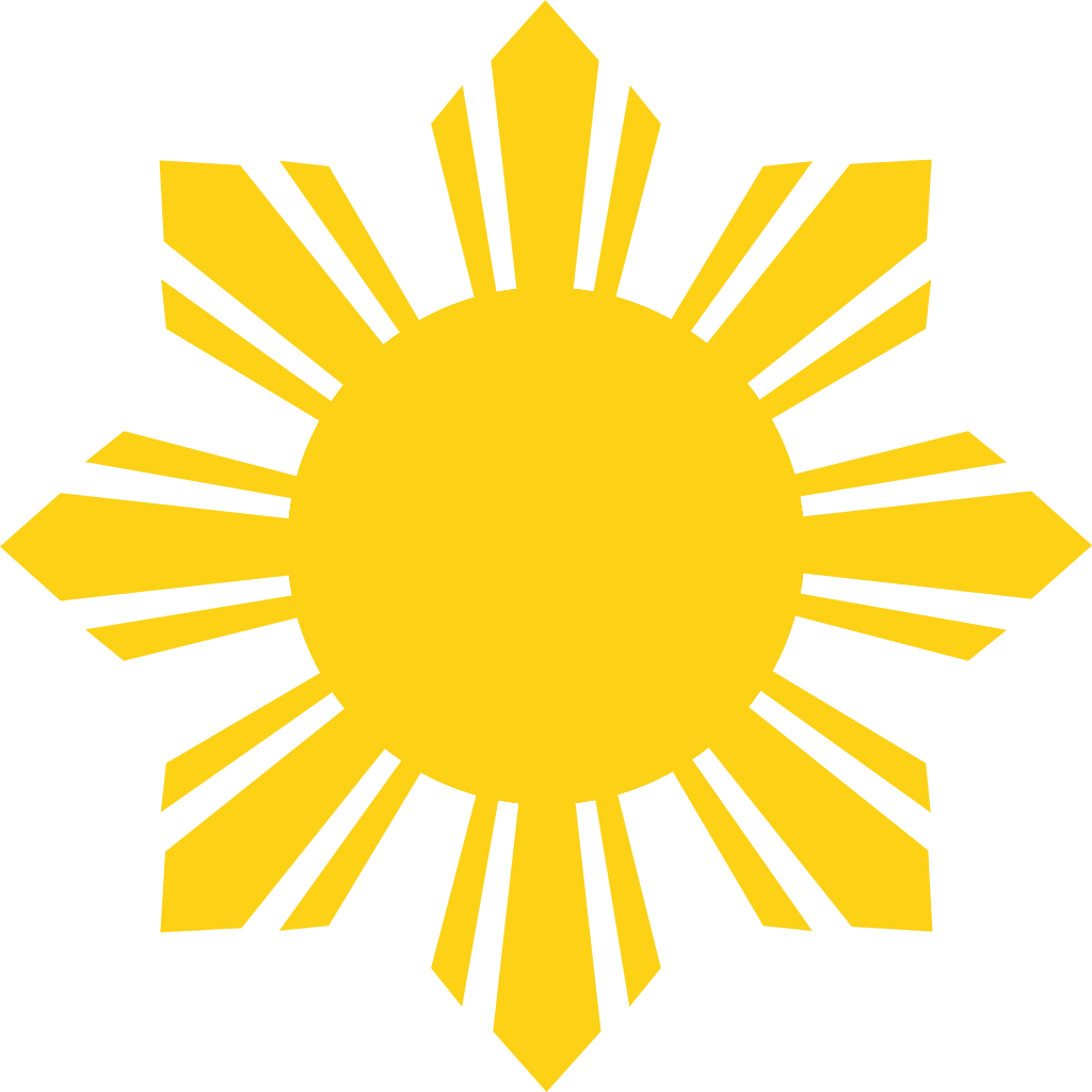 pin Phillipines clipart sun vector #1 - Art Of Sun Vector PNG
