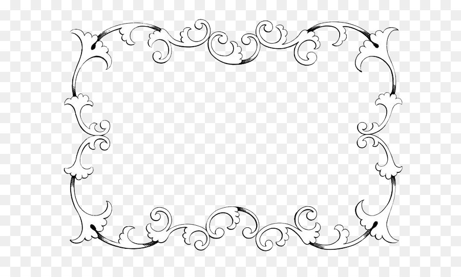 Ornament Classic Clip Art Clip art - Vintage Border Frame Transparent  Background - Art PNG Transparent Background