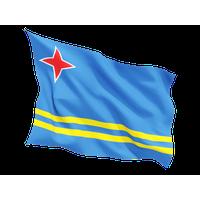 Aruba Flag Png File PNG Image