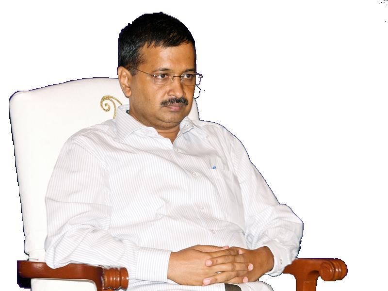 Delhi Chief Minister Arvind Kejriwal. - Arvind Kejriwal PNG