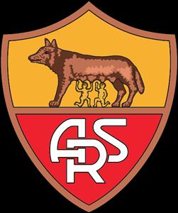 As Roma Club Logo Vector PNG - 97778