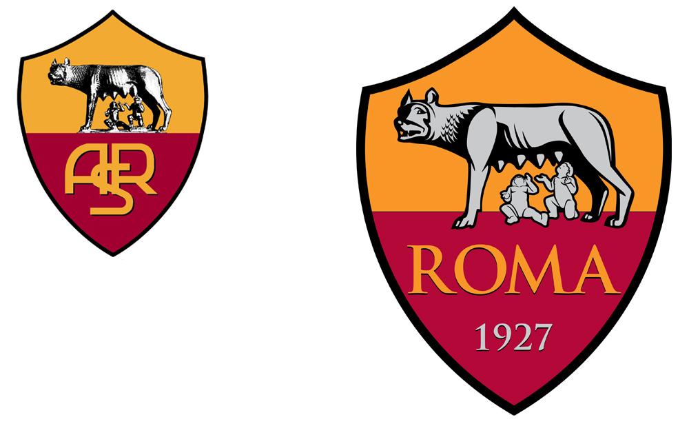 As Roma Club Logo Vector PNG - 97777