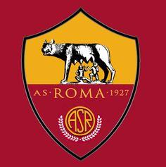 As Roma Club Logo Vector PNG - 97780