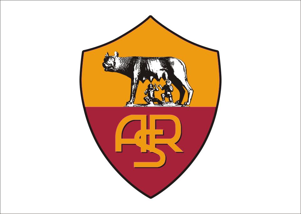 As Roma Club Logo Vector PNG - 97779