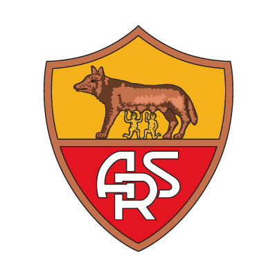 AS Roma Club vector logo . - As Roma Club Vector PNG