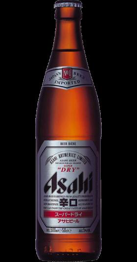 Asahi 50cl Bottle - Asahi Breweries PNG