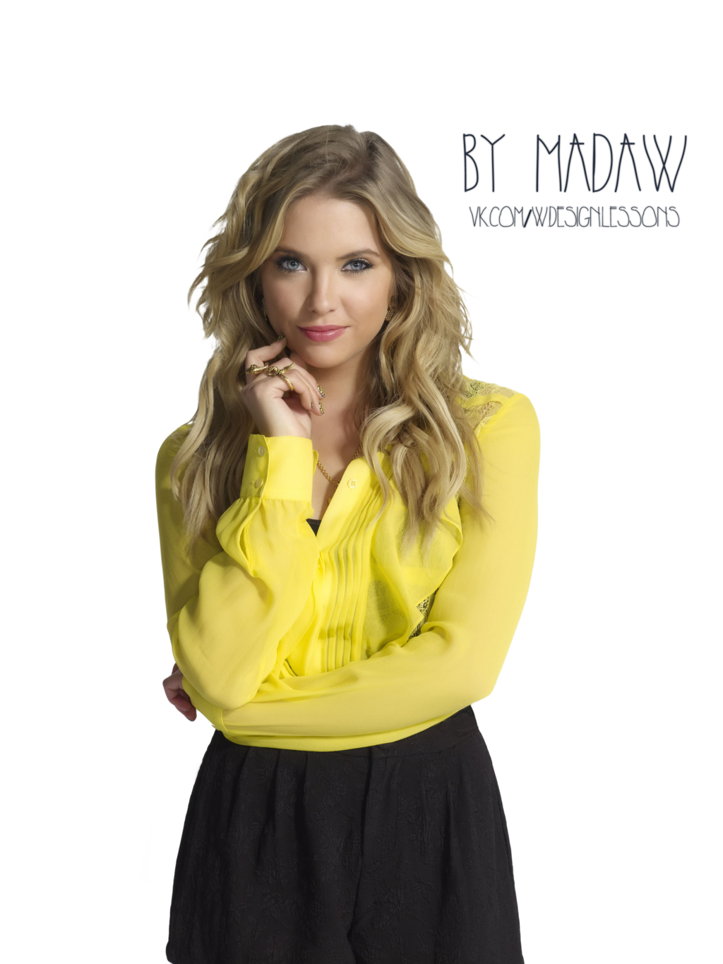 Ashley Benson PNG by MADAW - Ashley Benson PNG