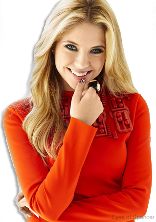 Ashley Benson PNG (Eyes of Spencer EDIT) by EyesOfSpencer PlusPng.com  - Ashley Benson PNG