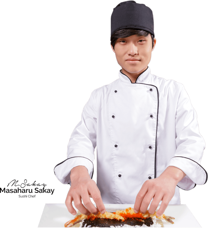 Sushi Chef - Asian Chef PNG