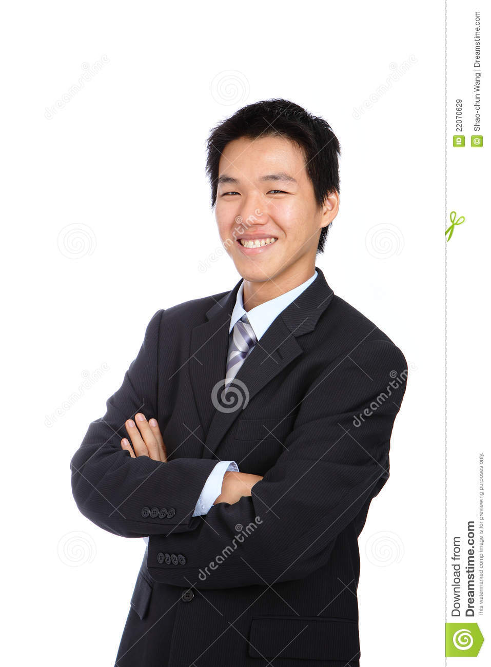 Young business asian man isolated - Asian Guy PNG